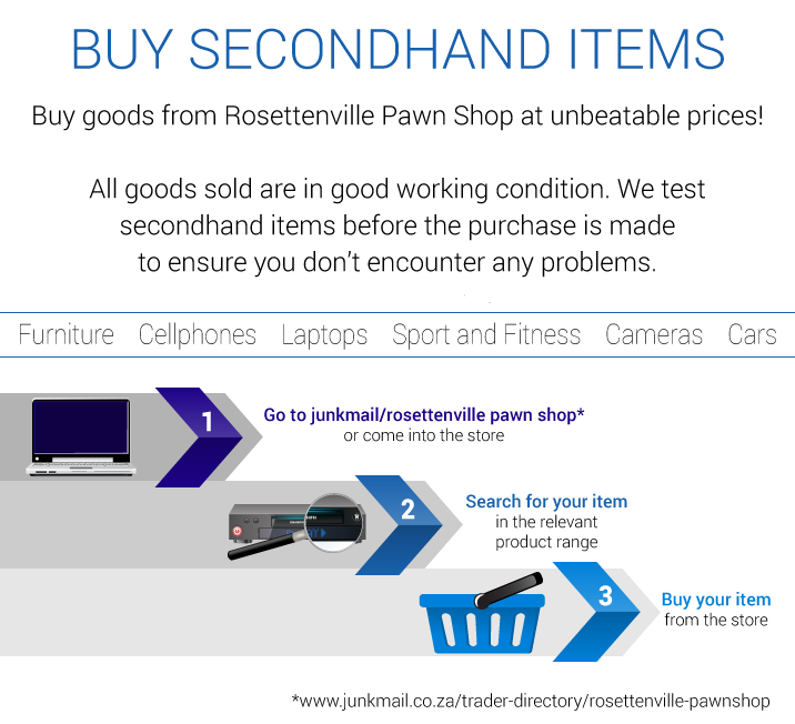 buy secondhand items